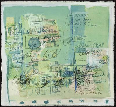 Sarah Grilo, 'Verde', 1967