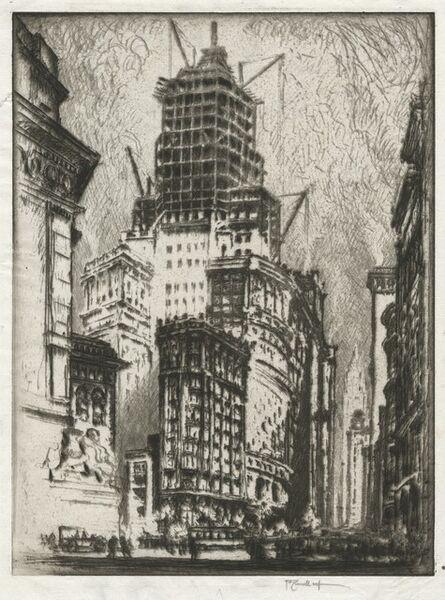 Joseph Pennell, 'Standard Oil Building', 1923