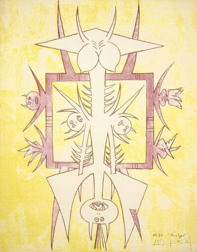 Wifredo Lam, 'Quetzal, from Brunidor Portfolio Number 1', 1947