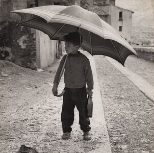 Fritz Henle, 'Sardinia - Little Boy Going to the Tavern for his Father's Wine', n/a