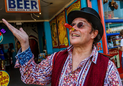 Norman Borden, 'Scott, Coney Island Side Show'