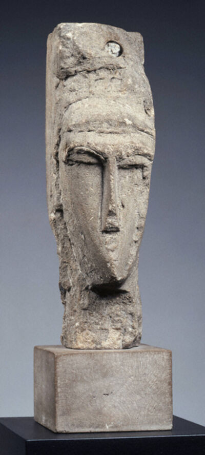 Amedeo Modigliani, 'Head', ca. 1910-11