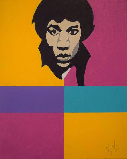 Barry Senft, 'Jimi Hendrix', 2017