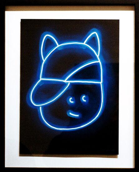 CHANOIR (Alberto Vejarano), 'Blue Moon Cat', 2020