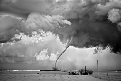 Mitch Dobrowner, 'Rope Out: Regan, North Dakota', 2011