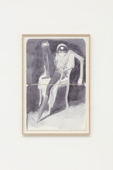 """Jansson Stegner, 'Study for """"The Peacekeeper"""" 65.4 x 42.5 cm ', 2008"""
