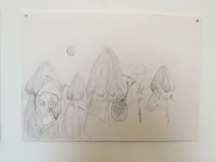 Joel Wyllie and Jerusha West, 'Collaborative Drawing 3', 2019