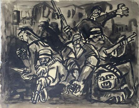 Jacek von Henneberg, '[Soldiers in Battle]'