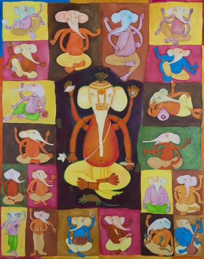 Subhaprasanna Bhattacharjee, 'Ganesh's 21', 1989