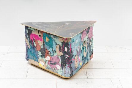 Stefan Rurak, 'Stefan Rurak, Concrete and Steel Low Table IV, USA', 2021