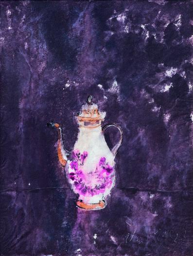 SRĐAN VUKČEVIĆ, 'A Porcelain Teapot', 2004