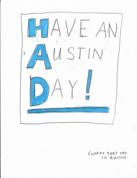 Jim Torok, 'Austin Day', 2015
