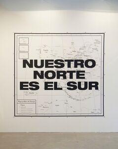 Juan José Martín Andrés, 'Nuestro Norte es el Sur/  Our north is the south.   ', 2014