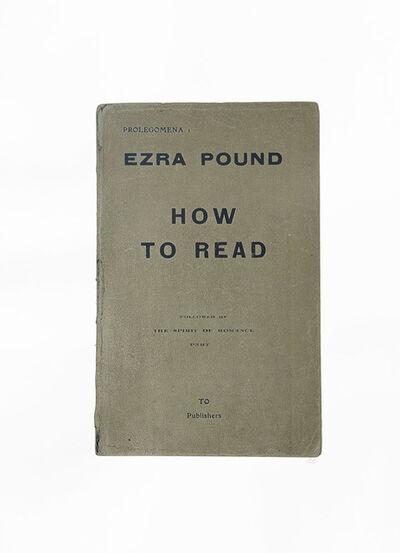 R. B. Kitaj, 'Ezra Pound', 1969