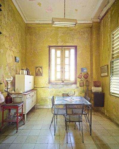 David Burdeny, 'Yellow Kitchen, Havana, Cuba'