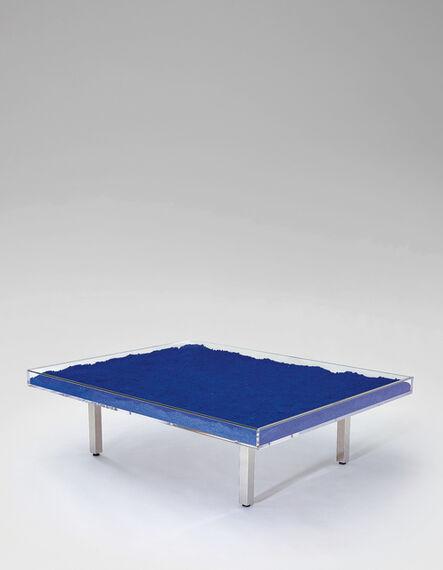Yves Klein, 'Table Bleue', designed 1961