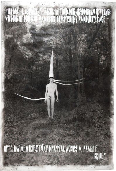 Lesley Dill, 'Odd Man in the Woods', 1998