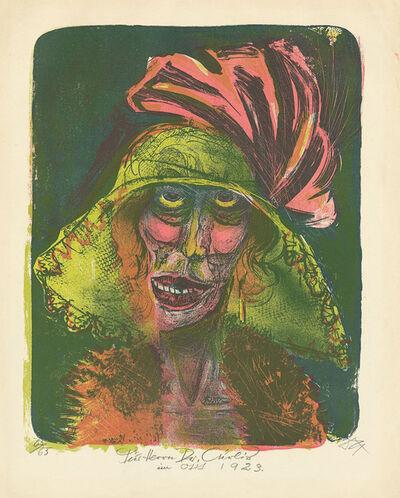Otto Dix, 'Leonie', 1920