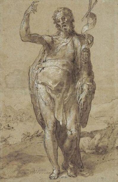 Taddeo Zuccaro, 'Saint John the Baptist'
