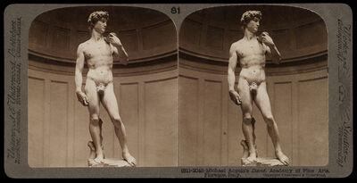Bert Underwood, 'Michelangelo's David, Academy of Fine Arts, Florence', 1900