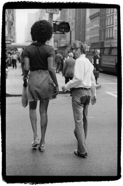 Bruce Laurence, 'Woody Allen and Tamara, 57th Street Bridge, New York', 1971
