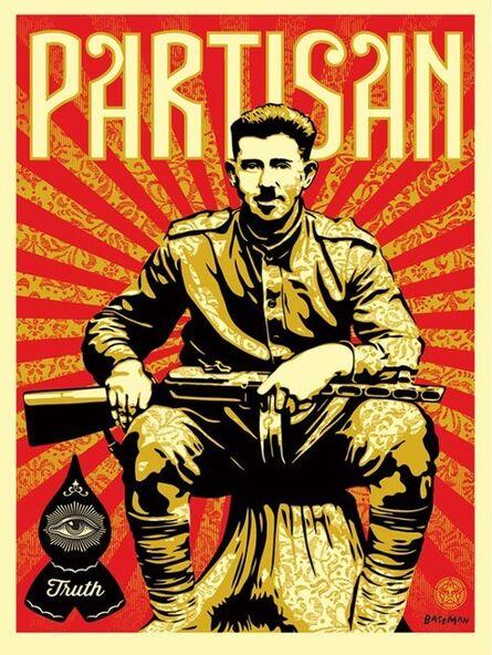 Shepard Fairey, 'Shepard Fairez x Gary Baseman Partisan Print', 2013