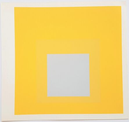 Josef Albers, 'Homage to the Square: Selected', 1977