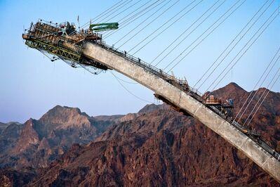 Jamey Stillings, 'Nevada Arch Segment, April 29', 2009