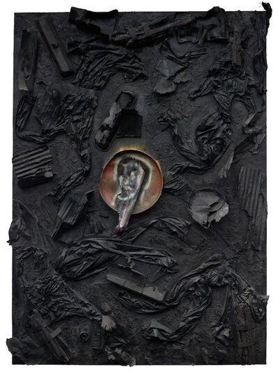 Thornton Dial, 'Jesus Christ in the Coal Mine', 2003
