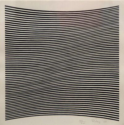 Bridget Riley, 'Untitled [La Lune en Rodage]', 1965