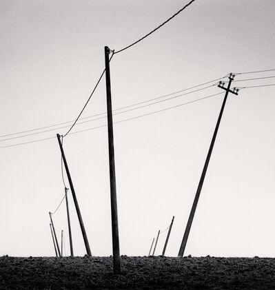 Michael Kenna, 'Ten Slanted Poles, Castilenti, Abruzzo, Italy', 2015