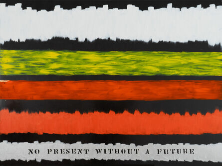 Edwin Schlossberg, 'No Present without a Future', 2018