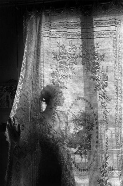 Edouard Boubat, 'la femme au rideau, Paris', 1971