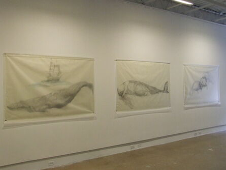 Avish Khebrehzadeh, 'Whale with Ship, Whale, and Three Manatees', 2009