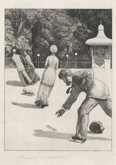 Max Klinger, 'Action (Handlung)', 1878/1880