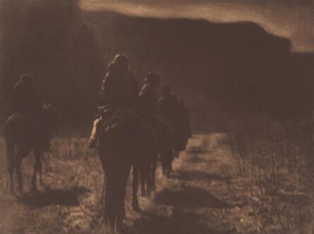 Edward S. Curtis, 'The Vanishing Race - Navaho', 1904