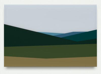 Julian Opie, 'Hills 3', 2017