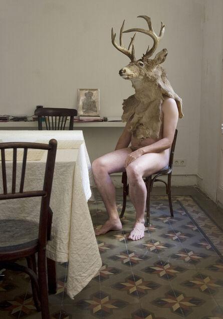 Jana Sterbak, 'Actaeon at home', 2005