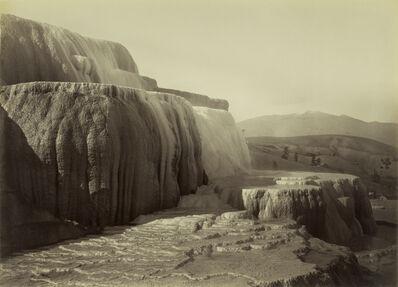 Carleton E. Watkins, 'Minerva Terraces, Mammoth Hot Springs National Park', 1884-1885