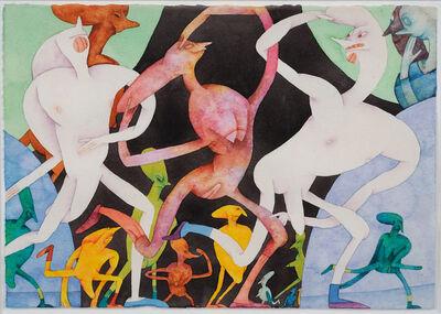 Gladys Nilsson, 'Little Arm in Arm', 1980