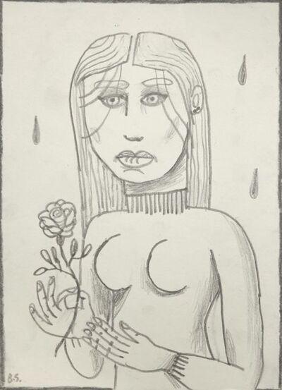 Ben Sledsens, 'Girl with Flower', 206