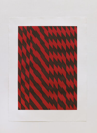 Richard Deacon, 'Blackfriars Red', 2012