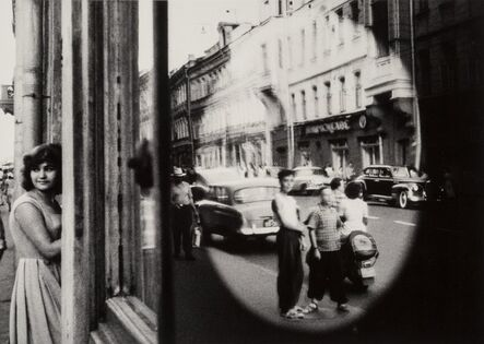 William Klein, 'Ovale Reflection, Moscow', 1959