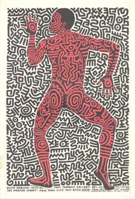 Keith Haring, 'Into 1984 - Tony Shafrazi Gallery', 1984