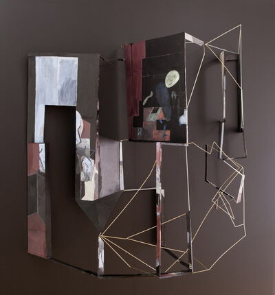 Sara Barker, 'cut up dream and fold in time/order/space', 2014