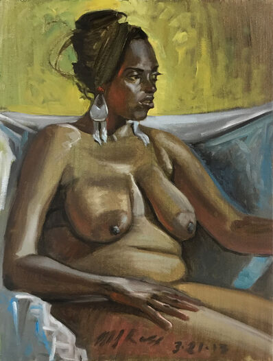 Mark Ross, 'Untitled (Seated Woman With Yellow)', 2013