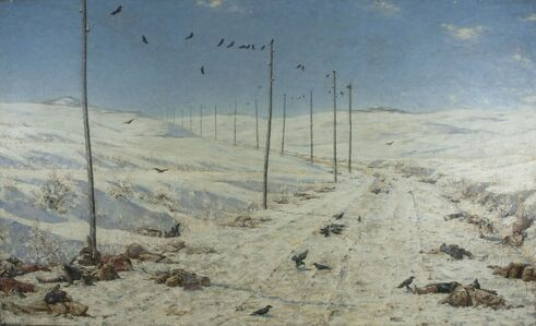 Vasily Vereshchagin, 'The Road of the War Prisoners', 1878-1879