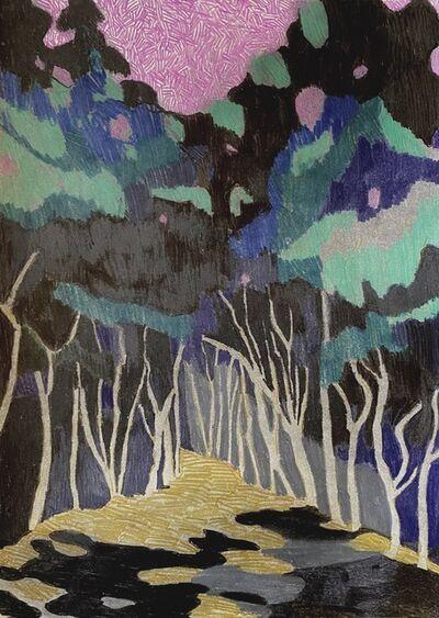 Per Adolfsen, 'Path into the Forest', 2021