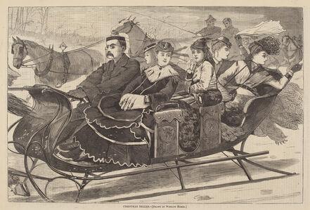 After Winslow Homer, 'Christmas Belles', published 1869