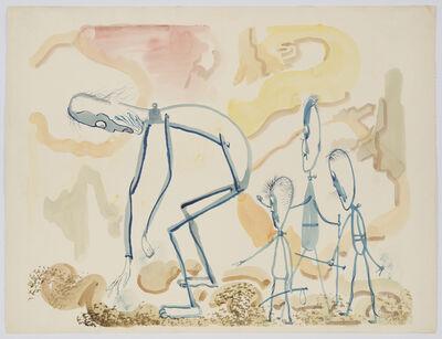 George Grosz, 'They Found Something', 1946